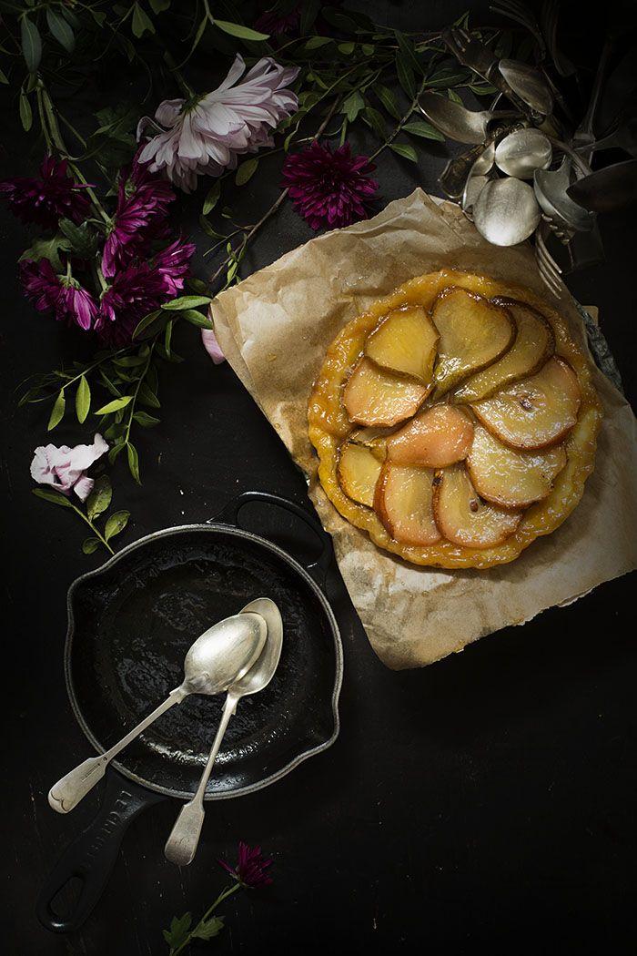TARTA TATIN DE PERAS Y SIROPE DE ARCE   Sweet And Sour