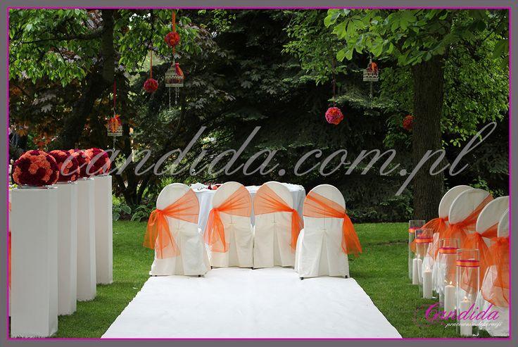 ślub w plenerze Villa Park Julianna