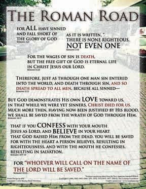 Romans Road To Salvation Printable | Salvation | Pinterest ...