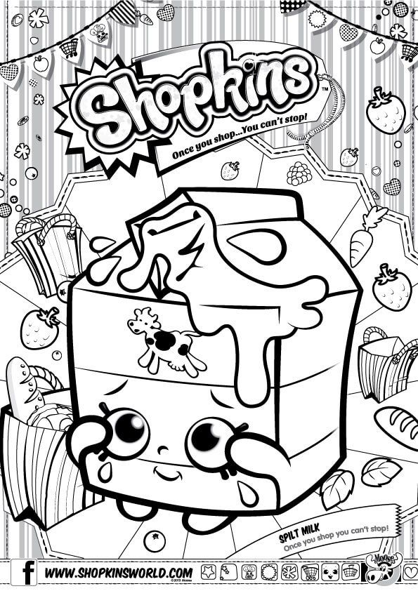 56 best FatyLu 3y images on Pinterest Birthdays, Birthday parties - best of shopkins coloring pages snow crush