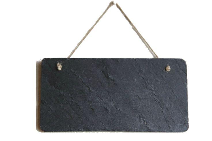 1 x Schiefertafel Natur Schieferplatte Memoboard Menükarte 20x10cm in Büro & Schreibwaren, Schulbedarf, Maltafeln & Zubehör | eBay
