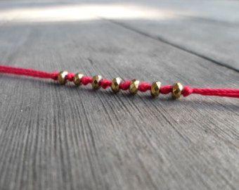 Kabbalah Red String Bracelet / Red String / Kabbalah Bracelet / Friendship Bracelet / Red String Bracelet / Mal de ojo / Evil Eye Bracelet