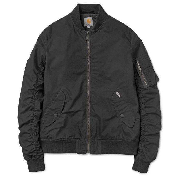 X' Adams Jacket Black #chaqueta #cazadora #modahombre #Parafernalia #CarharttWIP