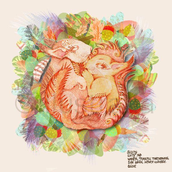 title: ' sleepy squirrels'