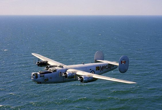 B-24 in service with the RCAF