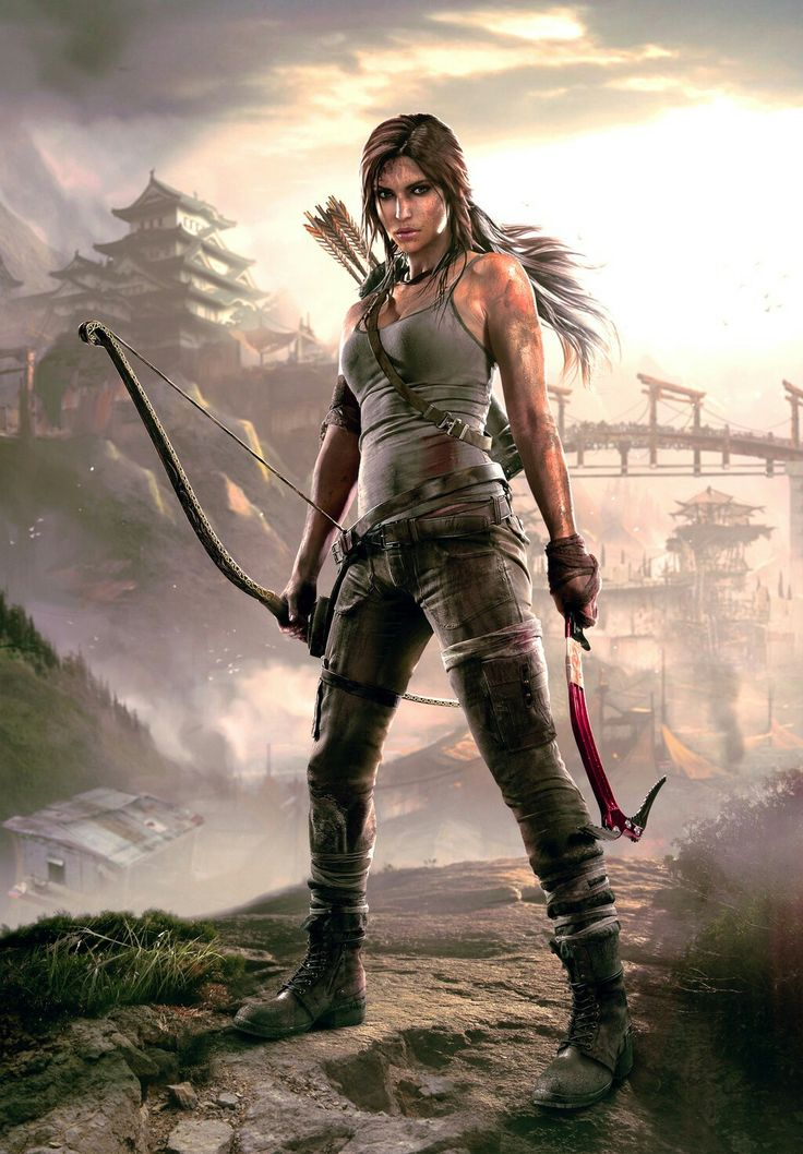 2. Lara Croft