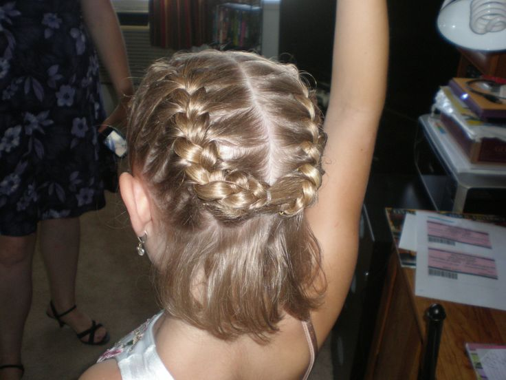 Hair Styles For A Dance: 45 Best Gymnastics Hair Images On Pinterest