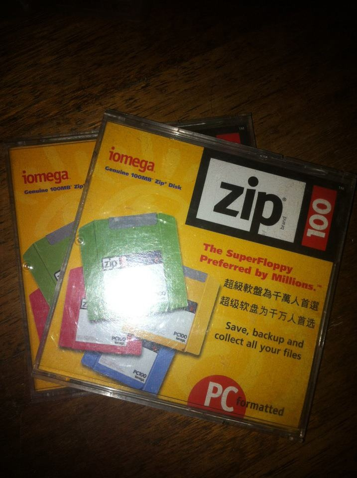 "Zip Disk -- ""The SuperFloppy Preferred by Millions"""