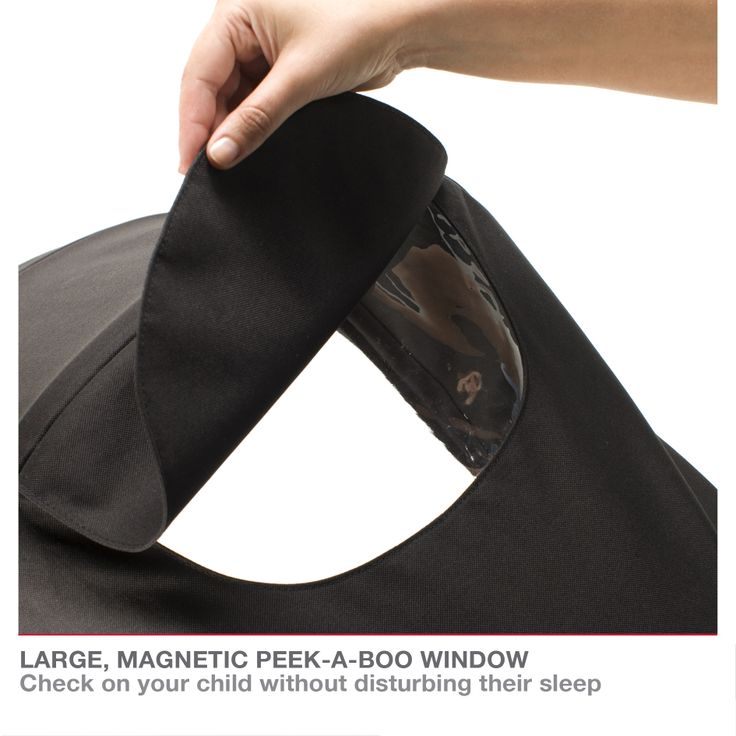 Redsbaby Bounce - The Ultimate All-In-One Stroller/ Pram www.redsbaby.com.au Large magnetic peek-a-boo window so you can check on your child without disturbing their sleep