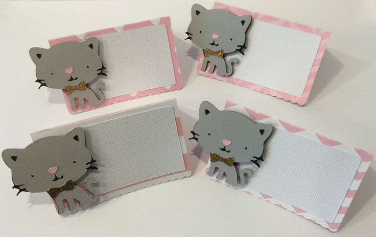Set of 12 Food Cards, Buffet Food Cards, Seating Cards, Baby Shower decorations, Birthday Party Decorations, Kitty Cat Theme, Kitten by FitchCraftCreations on Etsy https://www.etsy.com/listing/248767585/set-of-12-food-cards-buffet-food-cards