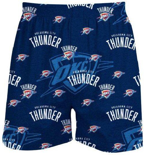 Oklahoma City Thunder Mens Navy NBA Keynote Boxer Shorts by Concepts Sports $16.95