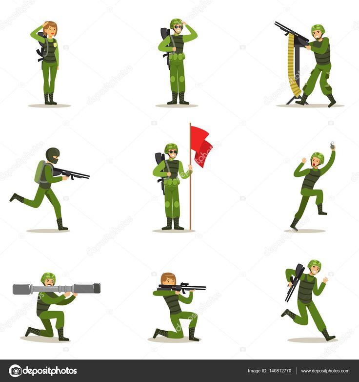 Resultado de imagen para soldados animados imagenes