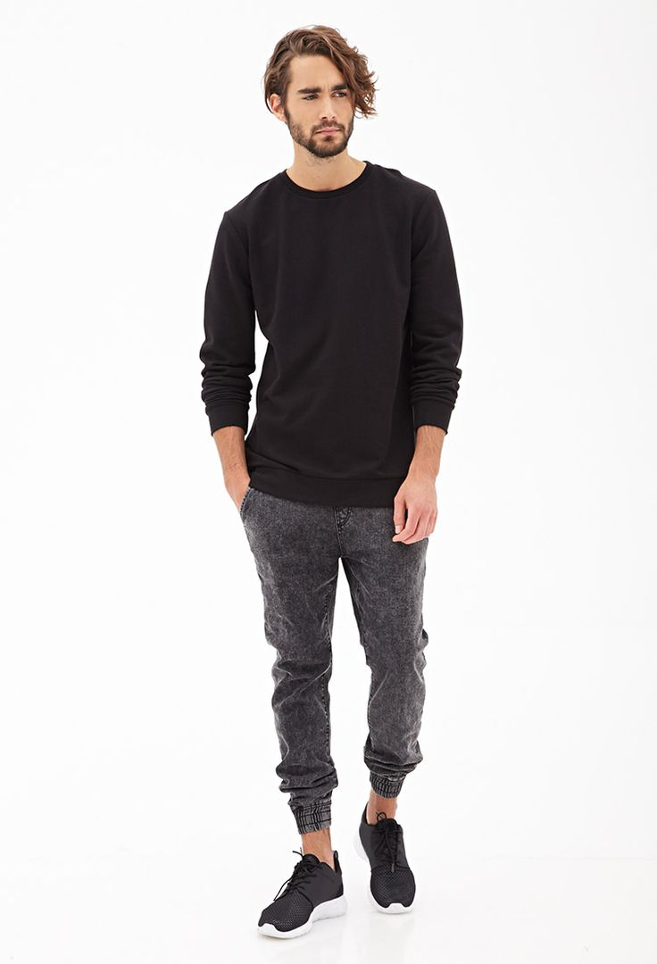 Slouchy Zippered Sweatshirt #21Men