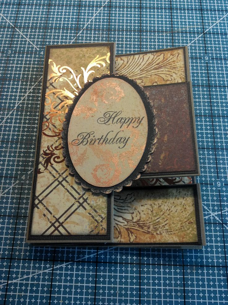 46 Best Images About Homemade Cards Trifold Cards On