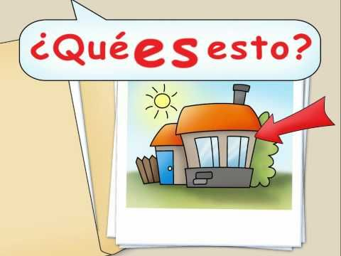 ¿Qué es esto? - What is this?  Video to teach students to ask what something is in Spanish. Rhythmic and memorable!