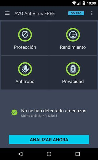 Baixar AVG para Android gratis.Antivirus Free é a solução da AVG antivírus e anti-roubo para o Android, que também tem uma ferramenta para otimizar o desempenho de smartphones segurança.