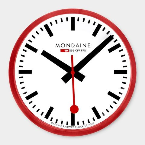 Small Swiss Railway Clock | Moma Store