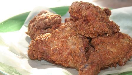 Lee's Brown Bag Fried Chicken - Valentine Warner via bbc uk