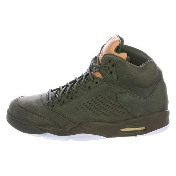 more photos d39cd d5d3b Pre-owned Nike Air Jordan 2016 5 Retro Sneakers ❤ liked on ...