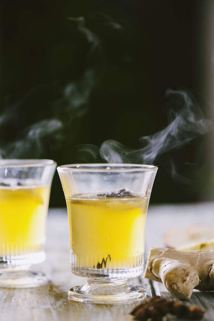 Punch analcolico al succo di mela