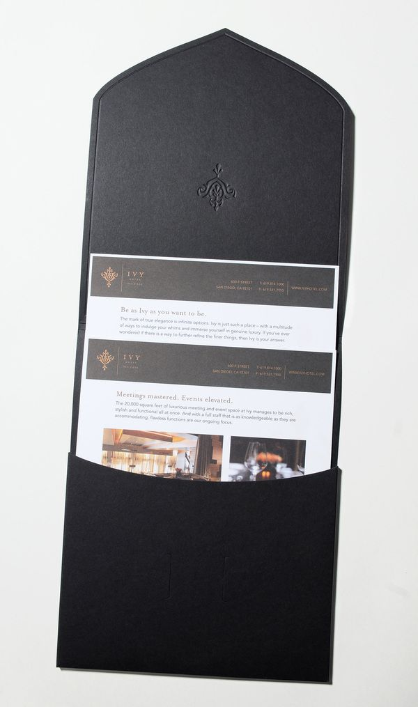 Ivy Hotel Sales Kit by CRU Agency , maybe TOO simple