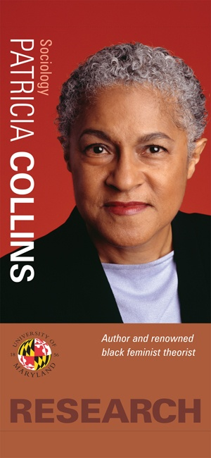 Patricia Hill Collins (1948 - ) is Distinguished Prof of Sociology at the University of Maryland. She is perhaps best known for her book Black Feminist Thought: Knowledge, Consciousness and the Politics of Empowerment. In it, she argues that there is no single, monolithic oppression, but instead, multiple oppressions working together to produce injustice.