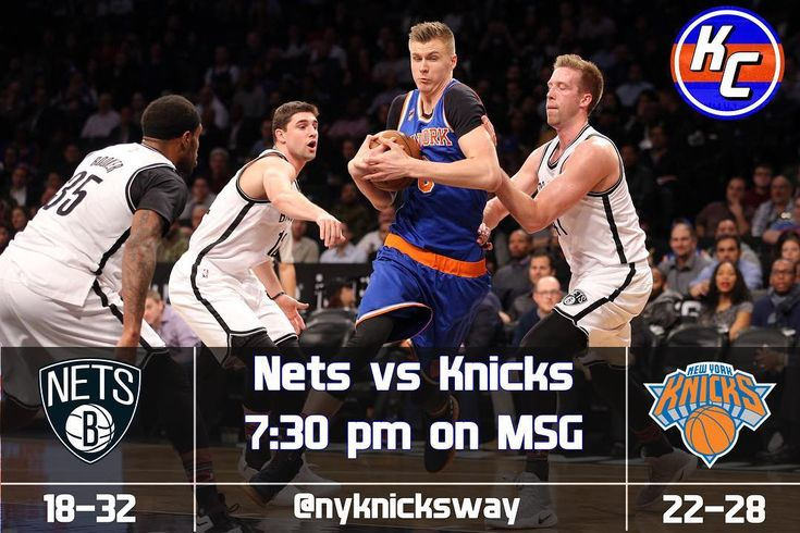 KNICKS GAMEDAY  The 22-28 Knicks look to take on the 18-32 Nets. Here is the info you need for tonights game.  MSG YES  ESPN NY 98.7 FM  Madison Square Garden  7:30 pm (EST) See you there for the game! - - FOLLOW @nyknicksway FOR MORE - #Knicks #Knicksway #KP #Porzingis #Hardaway #Knickstape #Lee #Jack #Starting5 #Kanter #Doug #McDermott #McBuckets #Beasley #Hernangomez #FrenchPrince #ntilikina #Sessions #Kuz #Thomas #ESPN #TNT #NBA #Sixers #Raptors #Celtics #Nets #Hornaceck #Burke…