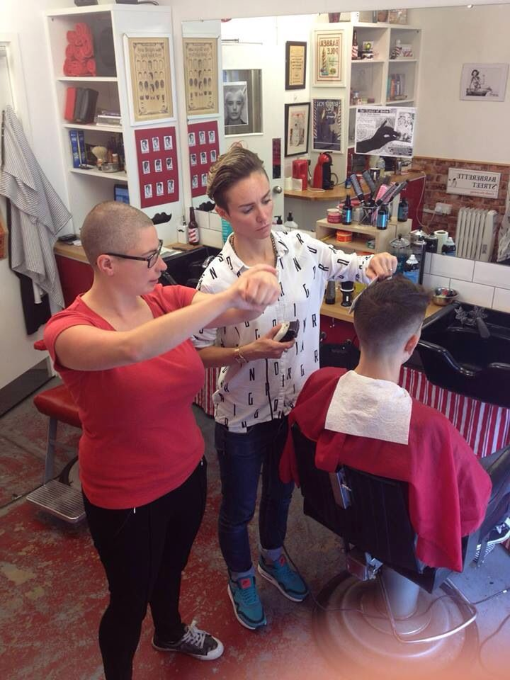 220 Best Images About Barbershop Haircuts On Pinterest