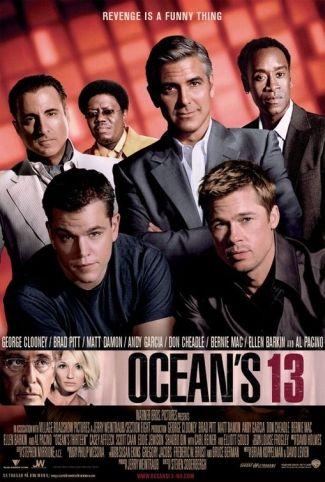 Ocean's 13 (2007) George Clooney, Brad Pitt, Matt Damon, Michael Mantell