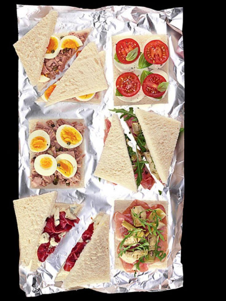 Italians do it better: 25 Italiaanse recepten | Tramezzini - Italiaanse sandwiches | ELLE Eten