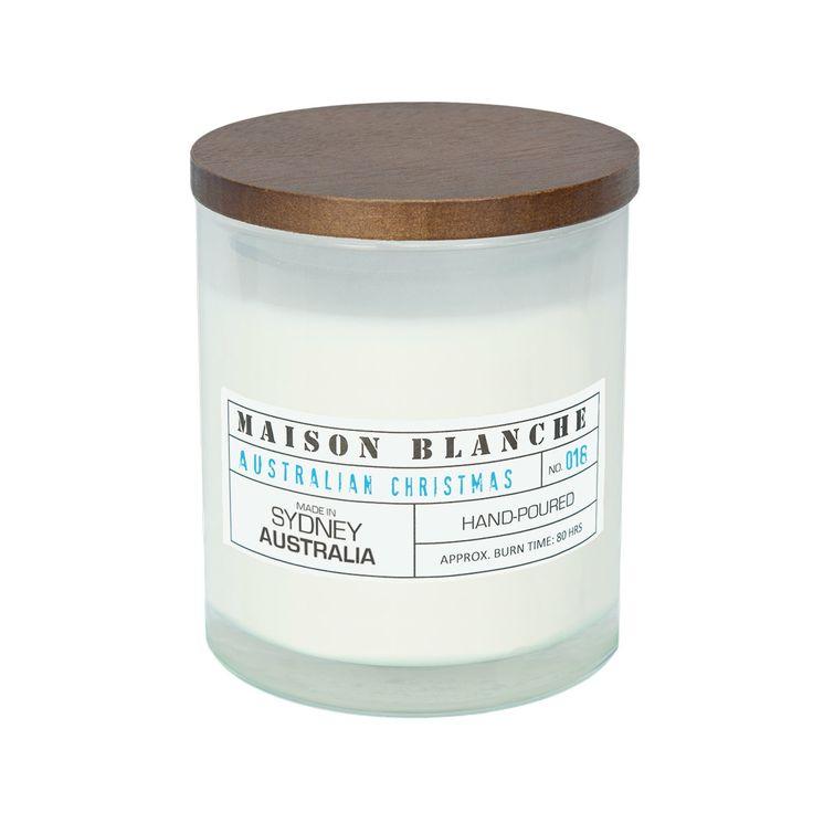 Maison Blanche Candles, Australian  Christmas scent, Etsy