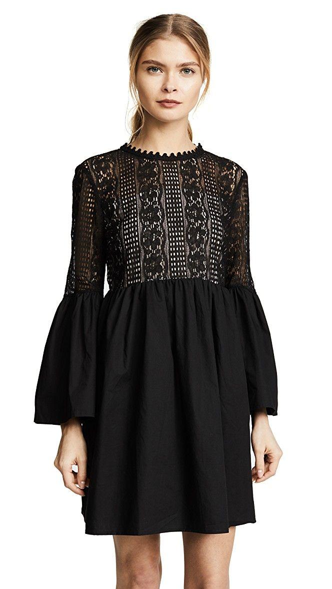 a83187bff4 endless rose Lace Mini Dress
