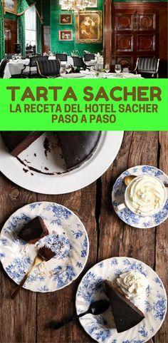 Tarta Sacher: la receta del hotel Sacher paso a paso