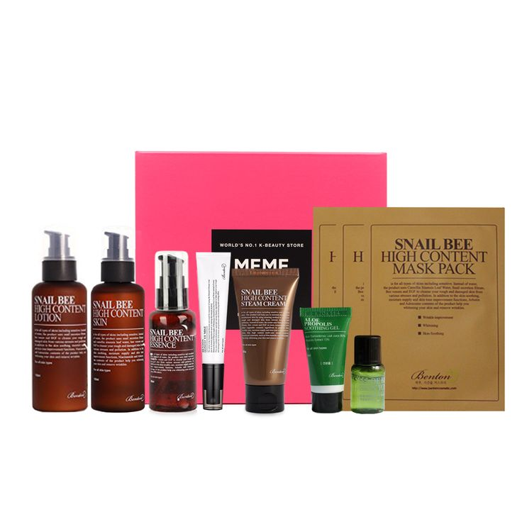 Benton Box from MemeBox.  Bringing you the latest in Korean beauty trends and products.