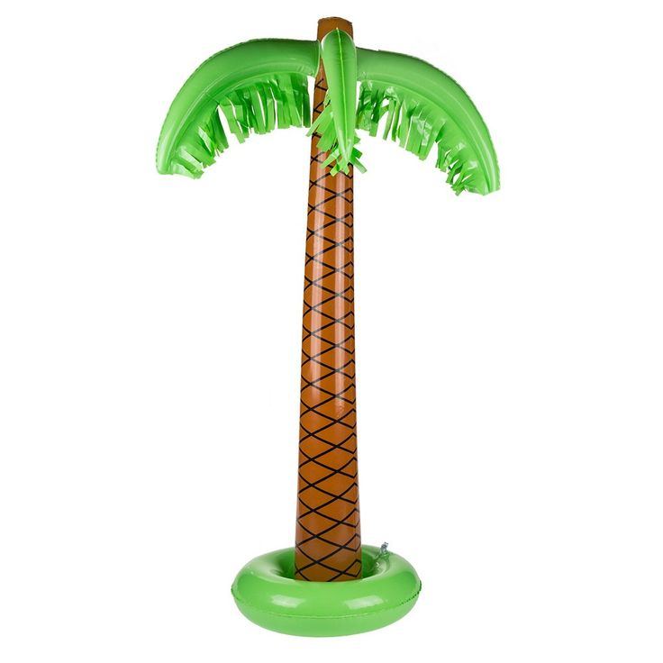 6€ - Palmier gonflable pour la piscine
