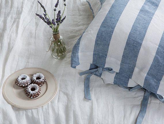 Linen pillowcases-Set of two linen by LinenHomeDecor on Etsy