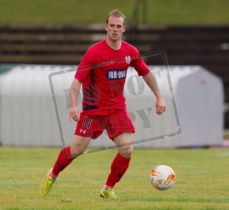 Craig Macleish makes his debut for us against Edinburgh City
