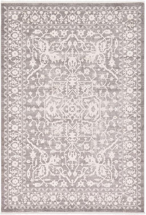 Light Gray 7' x 10' New Vintage Rug | Area Rugs | eSaleRugs