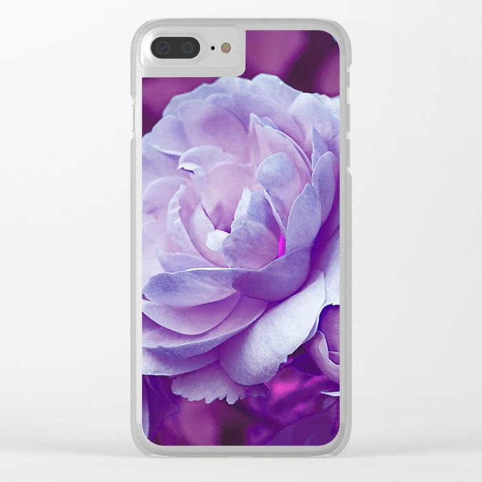 Buy Vintage violet roses (3) Clear iPhone Case by maryberg. Worldwide shipping available at Society6.com. Just one of millions of high quality products available.