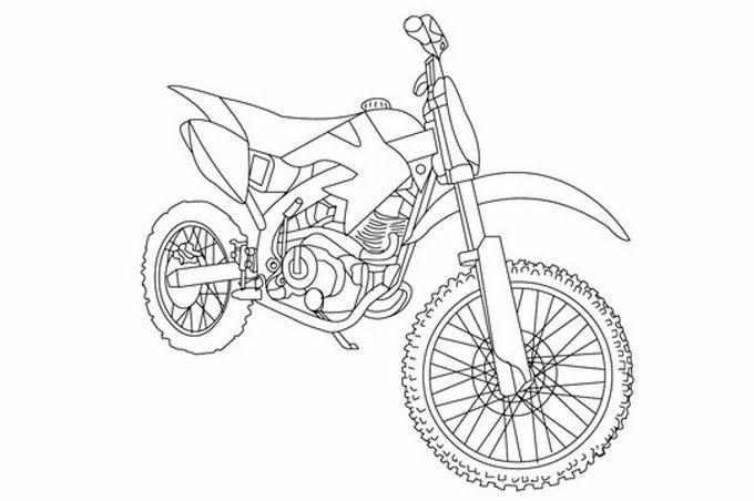 صورة دراجة نارية للسباق مفرغة للتلوين Photo Design Photo Blog Posts