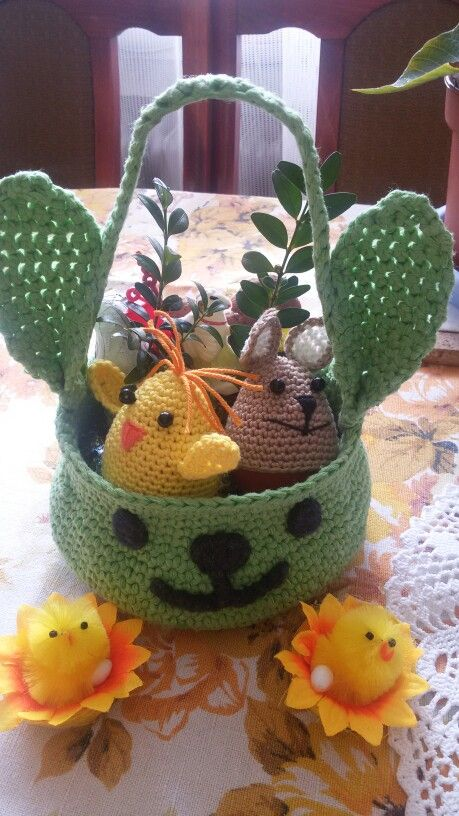 Wielkanocny koszyczek:)