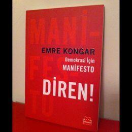Emre Kongar / Demokrasi İçin Manifesto - Diren! (İkinci El Kitap)