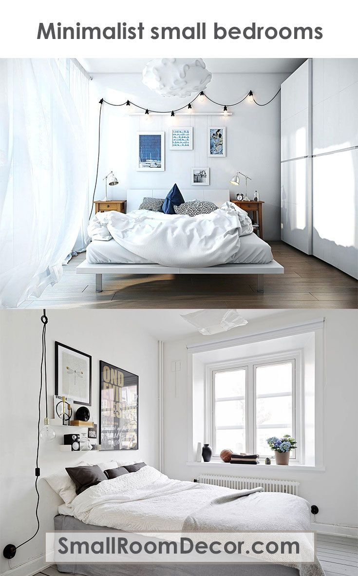 9 Modern Small Bedroom Decorating Ideas Minimalist Style On A Budget Small Bedroom Small Modern Bedroom Small Bedroom Decor