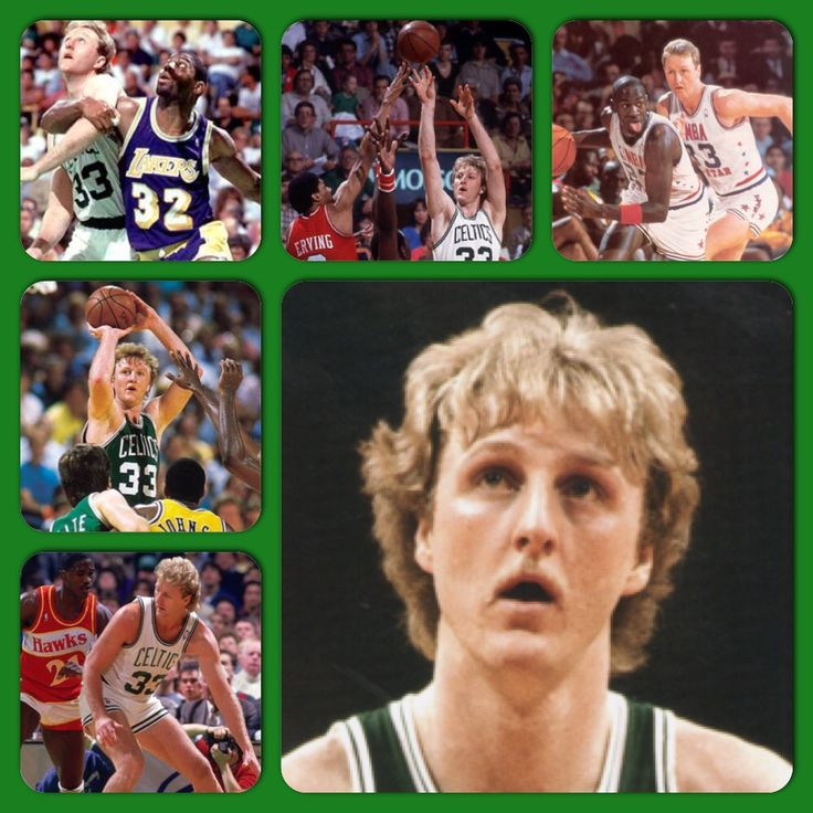 Larry Bird 6-9 220 a 3× NBA champion (1981, 1984, 1986) 2× NBA Finals MVP (1984, 1986) 3× NBA Most Valuable Player (1984–1986) 12× NBA All-Star (1980–1988, 1990–1992) NBA All-Star Game MVP (1982) 9× All-NBA First Team (1980–1988) All-NBA Second Team (1990) 3× NBA All-Defensive Second Team (1982–1984) NBA Rookie of the Year (1980) NBA All-Rookie First Team (1980) 3× Three-point Shootout champion (1986–1988) NBA's 50th Anniversary All-Time Team No. 33 retired by Boston Celtics John R. Wooden…