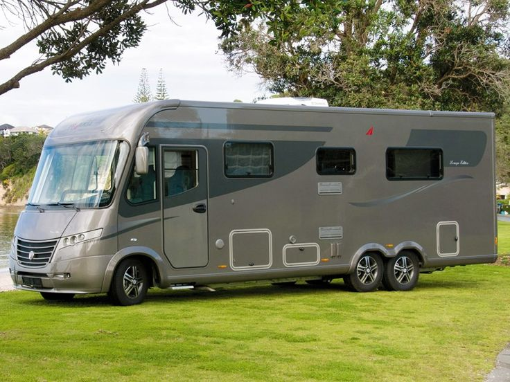 Frankia Motorhomes, built in Germany near the Czech border, was launched in Europe in 1983. Since the French-based Group Pilote acquired them in 1990, Frankia has prospered and now offers a range of integrated body motorhomes as well as low profile and bed over the cab models built on Fiat and Mercedes-Benz chassis.