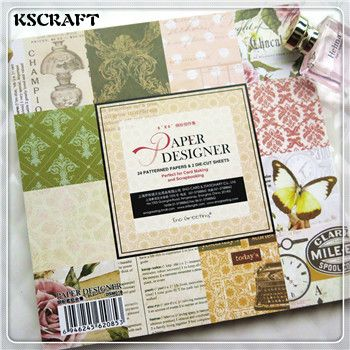 Find More Craft Paper Information about KSCRAFT 6'' Single side Printed Vintage Pattern Decorative Scrapbooking paper set of 24sheets printed background craft paper,High Quality set of,China set paper Suppliers, Cheap set 6 from KSCRAFT LOVERS Store on Aliexpress.com