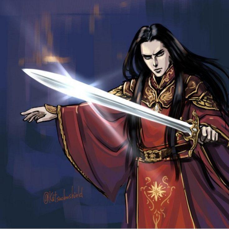 Fëanor - Firelight and Elvensteel