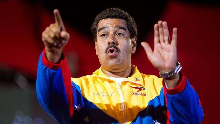 Fujão: O covarde  Nicolas Maduro é perseguido  por uma multidão em fúria!