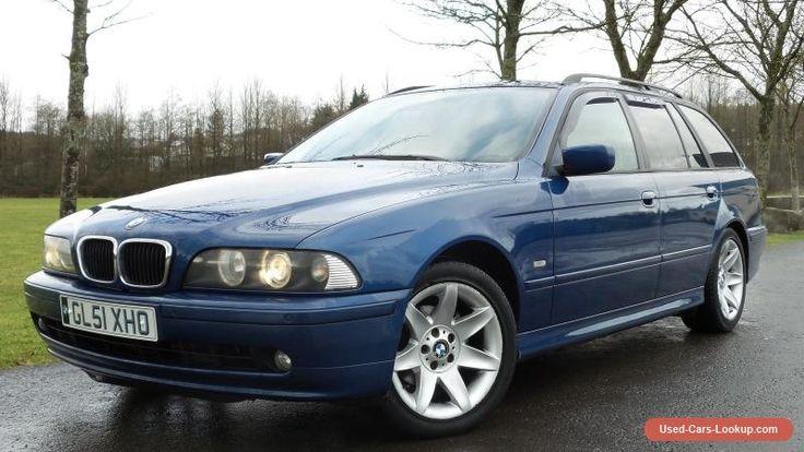 2001 BMW 520I SE TOURING AUTO BLUE #bmw #520isetouringauto #forsale #unitedkingdom