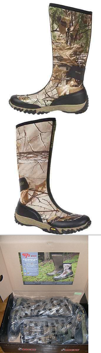Hunting Footwear 153008: Rocky Boots Silent Hunter Water Proof Premium Hunting Boots Rt Xtra Mens 10 -> BUY IT NOW ONLY: $71.99 on eBay!